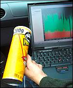 Pringles can increases the signal